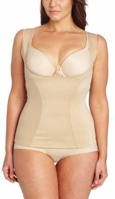 Flexees Maidenform Women's Shapewear Wear Your Own Bra Torsette with Wide Straps