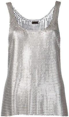 Paco Rabanne mesh top