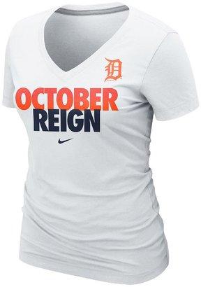 Nike detroit tigers october reign 2013 postseason tee - women