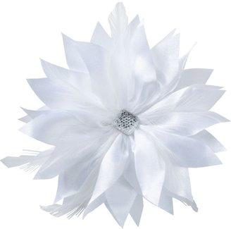 Karina White Flower Pin/Clip