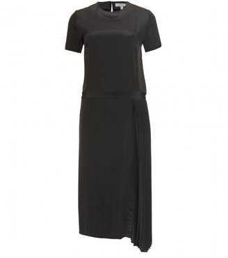 Mulberry DRESS WITH ASYMMETRIC PLEATS