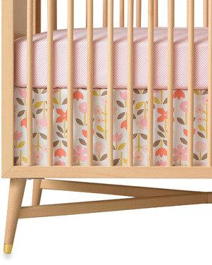 Dwell Studio® Rosette Blossom Crib Skirt