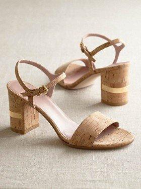 Pendleton Natural Cork Solo Sandals