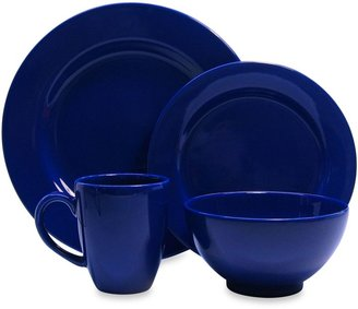 Waechtersbach Fun Factory 16-Piece Dinnerware Set with Jumbo Mugs in Royal Blue
