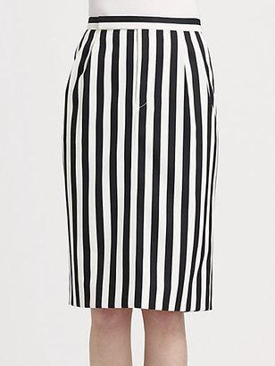 Marc Jacobs Striped Trouser Skirt