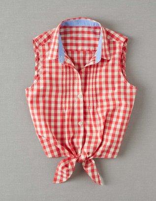 Boden Tie Front Shirt