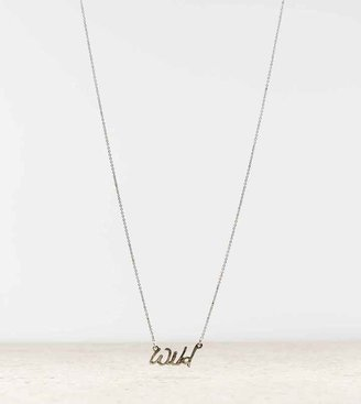 American Eagle AEO Wild Statement Necklace