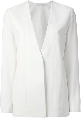 Alexander Wang collarless blazer