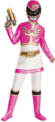 Disguise Power Rangers Kids Costume, Girls or Little Girls Pink Ranger Megaforce Deluxe Costume