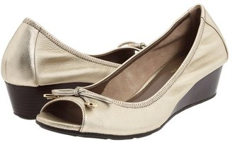 Cole Haan Air Tali Open Toe Chain Wedge 40 Women's Toe Open Shoes
