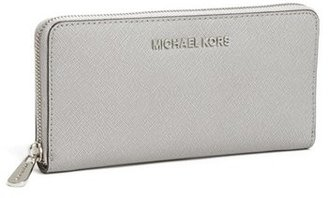 MICHAEL Michael Kors 'Jet Set' Zip Around Continental Wallet