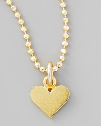 Dogeared Gold Perfect Heart Charm