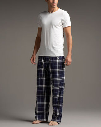 Burberry Check Pajama Set, Navy
