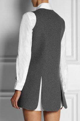J.W.Anderson Neoprene-effect wool-blend mini dress