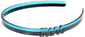 Marc by Marc Jacobs Confetti Marc Script Headband (Knockout Pink Multi) - Accessories
