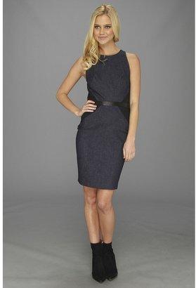 Nicole Miller Cassie Denim Sleeveless Dress (Navy) - Apparel
