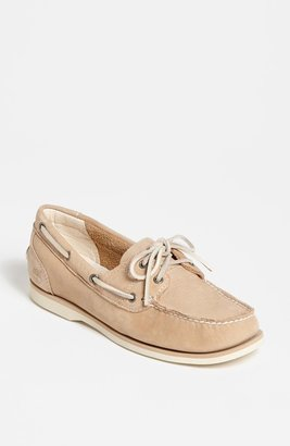 Timberland Earthkeepers 'Casco Bay' Boat Shoe Teal 7 M