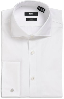 HUGO BOSS 'Jacco US'   Slim Fit, Spread Collar Tuxedo Shirt by BOSS