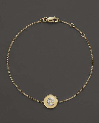 KC Designs Diamond Pavé Initial Bracelet