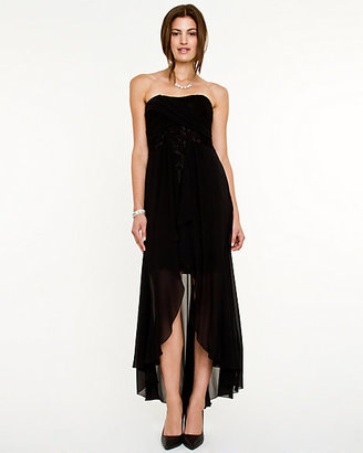 Le Château Chiffon Sweetheart High-Low Dress