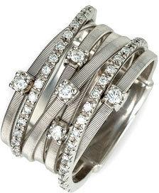 Women's Marco Bicego 'Goa' Seven Band Diamond Ring $4,500 thestylecure.com