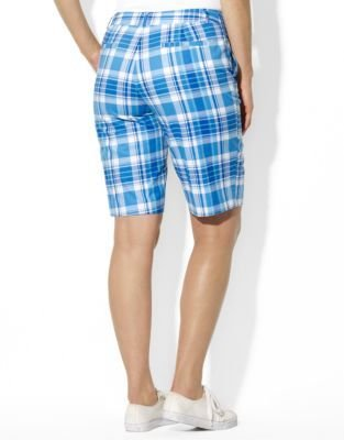 Lauren Ralph Lauren Plus Plaid Bermuda Short