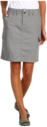 Carve Designs Rainer Cargo Skirt (Granite) - Apparel