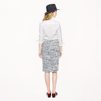 J.Crew Collection no. 2 pencil skirt in icicle tweed