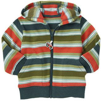 Gymboree Stripe Zip Hoodie