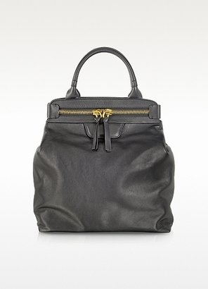 Sonia Rykiel Black Large Leather Shopper