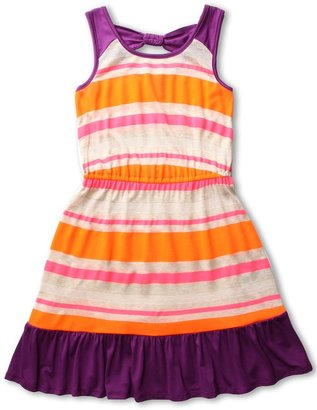 Ella Moss Zadie Dress(Big Kids) (Fire) - Apparel