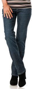 Motherhood Indigo Blue Secret Fit Belly® 5 Pocket Straight Leg Maternity Jeans