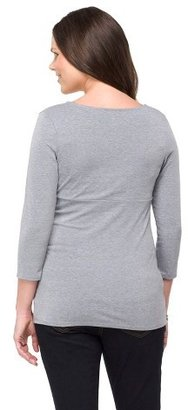 Liz Lange for Target Maternity 3/4 Sleeve Nursing Friendly Top for Target®