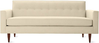 """Design Within Reach Bantam 73"""" Sofa in Leather"""
