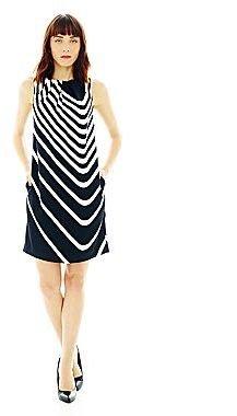Joe Fresh Joe FreshTM Striped Flare Dress