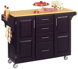 Home Styles Kitchen Island With Wood Top