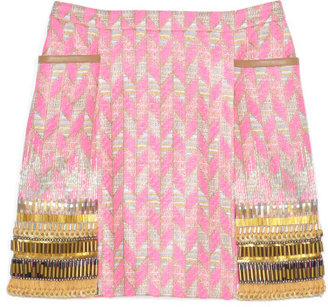 Matthew Williamson Geometric Print Skirt
