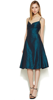 Calvin Klein Olita Sheen Flared Dress