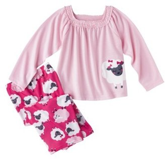 Carter's JUST ONE YOU® Made by Infant Toddler Girls' Lamb Pajama Set