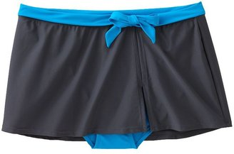 Free Country colorblock skirtini bottoms - women's plus