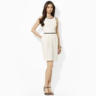 Ralph Lauren Sleeveless Cotton Lace Dress