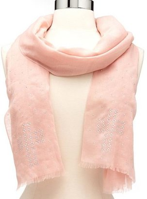 Charlotte Russe Studded Cross Lightweight Scarf