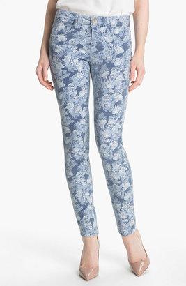 Nordstrom Wit & Wisdom Floral Print Skinny Jeans Exclusive)