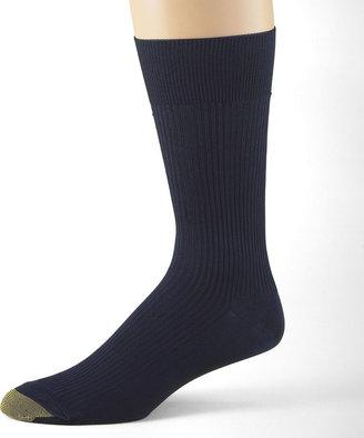 Gold Toe 3-pk. Dress Manhattan Non-Binding Crew Manhattan Socks
