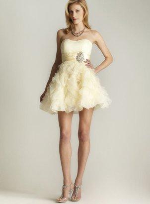 Jovani Jewel & Ruffle Party Dress