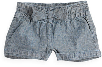 Pumpkin Patch Denim Bow Front Shorts