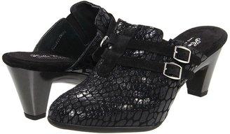 Helle Comfort Ekanta (Black Pitone) - Footwear