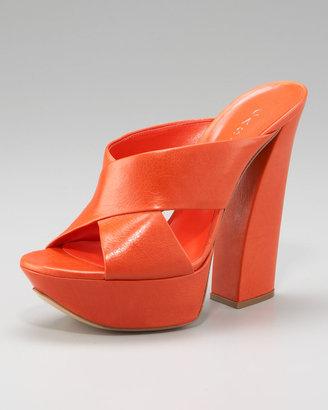 Casadei Chunky Crossover Sandal
