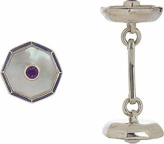 Deakin & Francis Men's Double-Sided Cufflinks - Purple