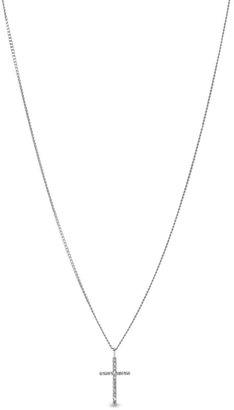 Fossil Glitz Cross Necklace